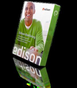 Bokföringsprogrammet Edison Bokföring